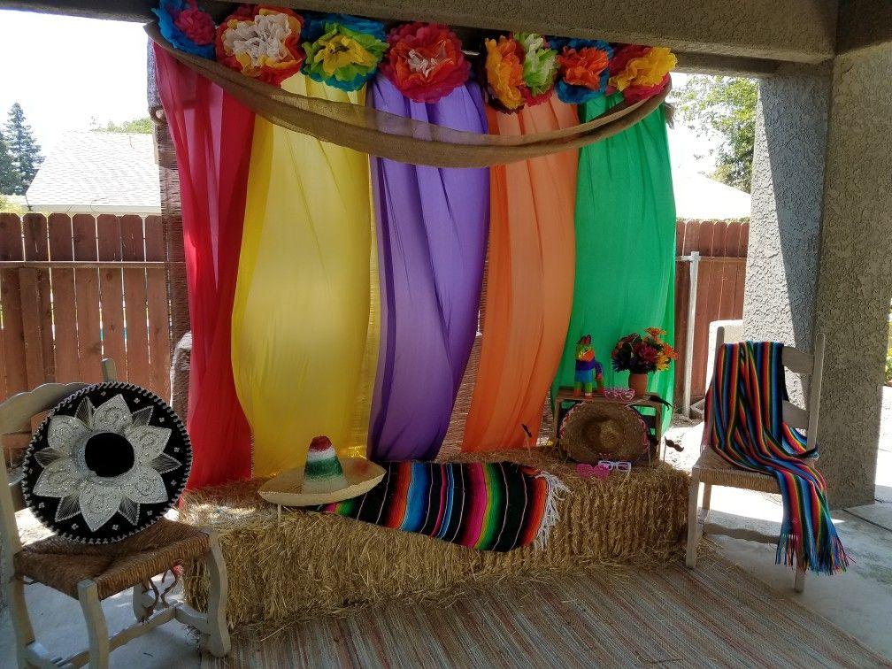 Pin de dora reyna en outdoor parties pinterest fiesta mexicana fiestas y mexicanos for Decoracion kermes mexicana