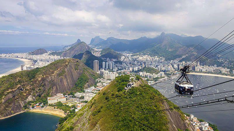 Gipfelglück über Rio de Janeiro