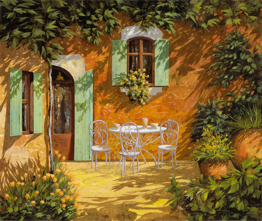 Sul Patio by Guido Borelli