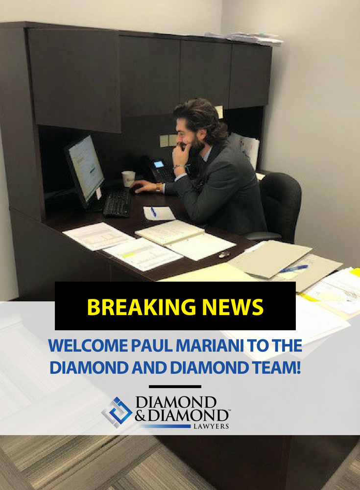 Welcome Paul Mariani To The Diamond And Diamond Team Paul Has