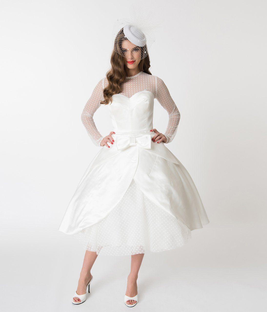 50s Wedding Dress 1950s Style Wedding Dresses Rockabilly Weddings Barbie X Unique Vintage Ivory Be Wedding Dresses Unique Wedding Dress Styles Bridal Dresses