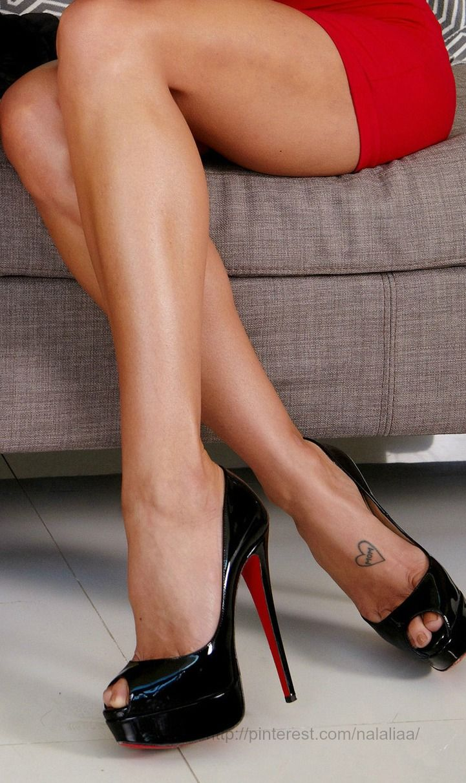 how to make feet look good in heels