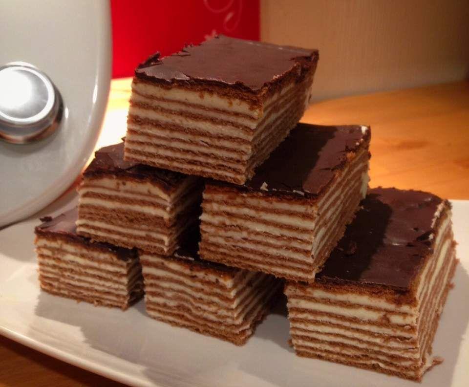 Russische Torte Spartak Rezept In 2019 Blechkuchen Pinterest