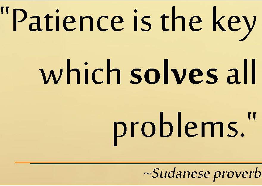 essay on patience Literary analysis - patience is a virtue title length color rating : ethics - virtue of patience essay - virtue and patience in order to survive these days, there need to be at least some standards and goals of morality in a person's life.