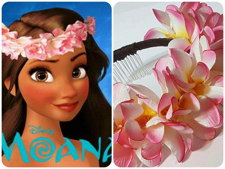 Moana Flower Headband Hawaiian Plumeria Flower Headband Moana