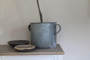 Galvanised bucket... millingtonandhope