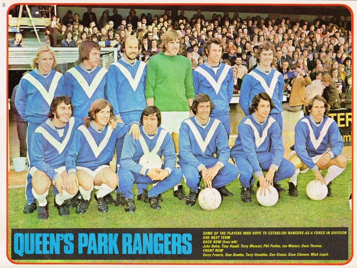Queens Park Rangers QPR Legends Team Group POSTER