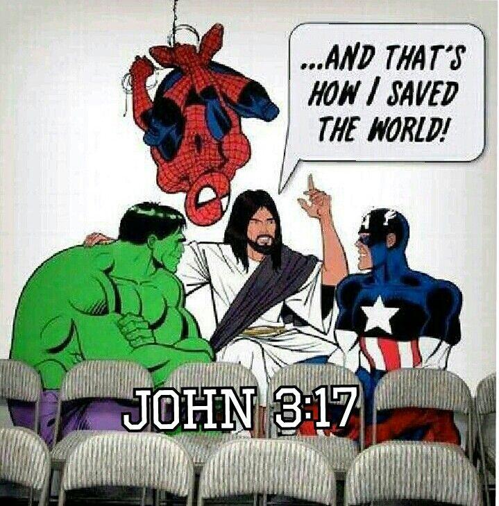 Jesus Super hero