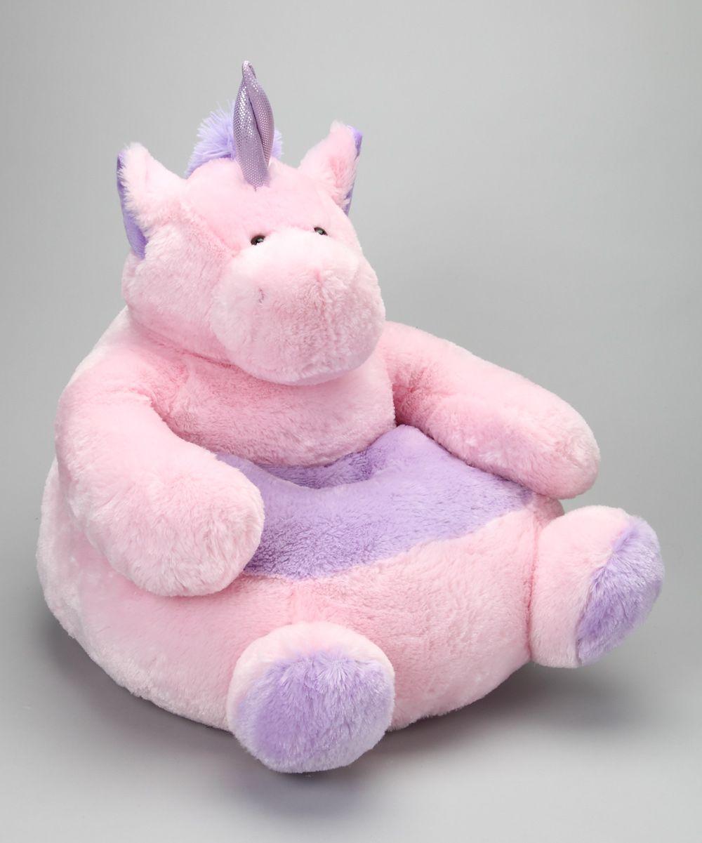 Unicorn Plush Chair Zulily Plush Chair Bean Bag Chair Sofa