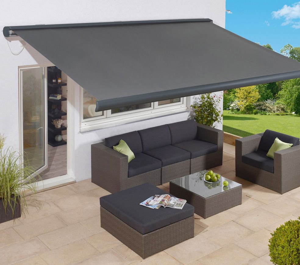 Obif 2014 03 26 Kassettenmarkiseled Fabiona 01 Jpg 984 870 House Awnings Outdoor Awnings Outdoor Furniture Sets
