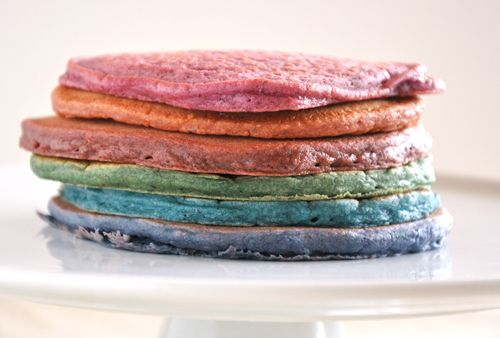 Gluten-Free Pancakes with natural decorating (a.k.a. food) coloring ...