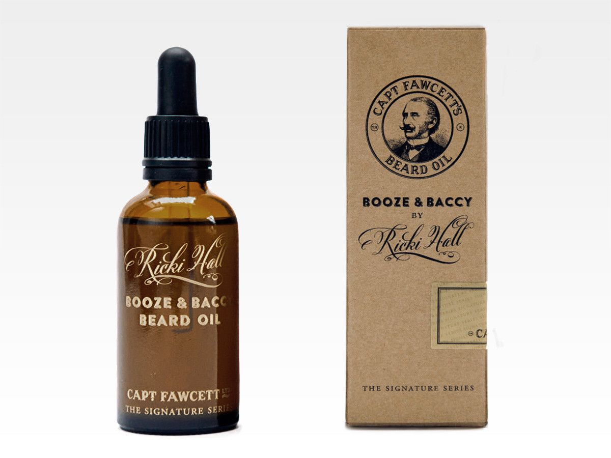 Óleo de Barba Captain Fawcett Ricki Hall's Booze & Baccy 50ml - DocArchibald.com