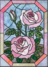 Image result for pattern for stained glass quilt