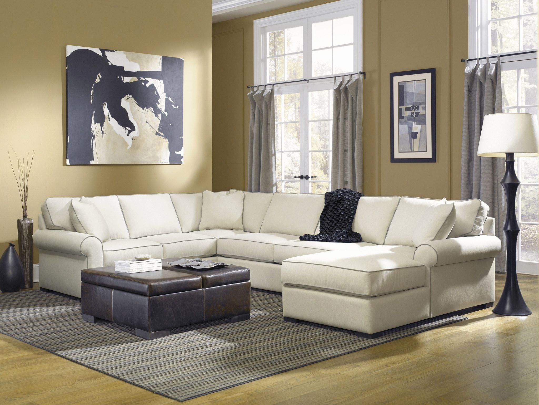 best of down filled sectional sofa