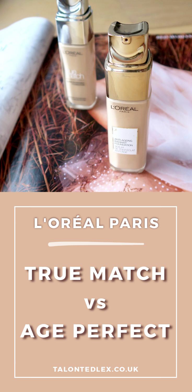 L'Oréal Paris Age Perfect Foundation Review Foundation