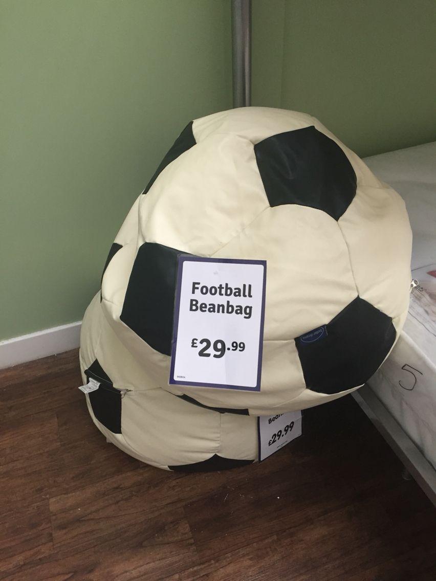 Boys football style beanbag 2499 bean bag football