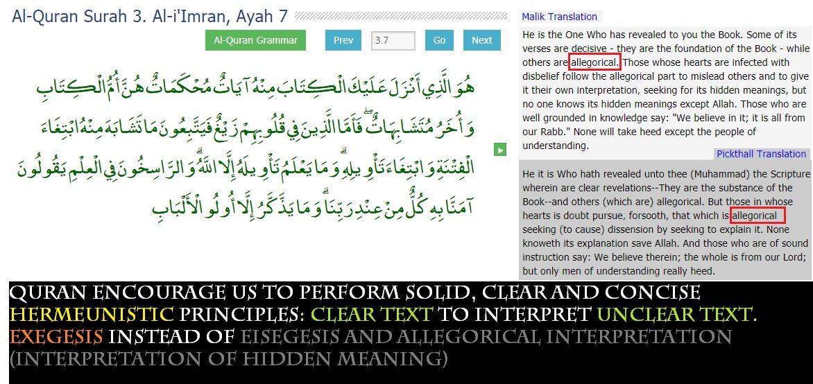 Quran on Allegory   QuranArt   Quran, Periodic table, Diagram
