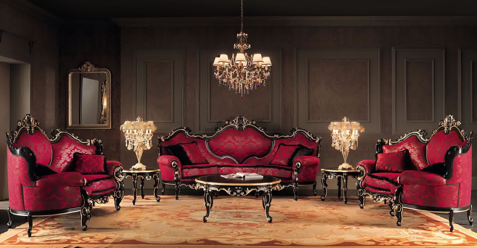 high end living room furniture. living room salotto italiano high end furniture  inspiring Italian Classic Living Room Design with Expensive Red Sofa My