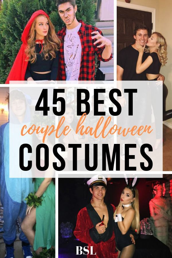 45 Best Couple Costumes Your Friends Will DIE Over - By Sophia Lee