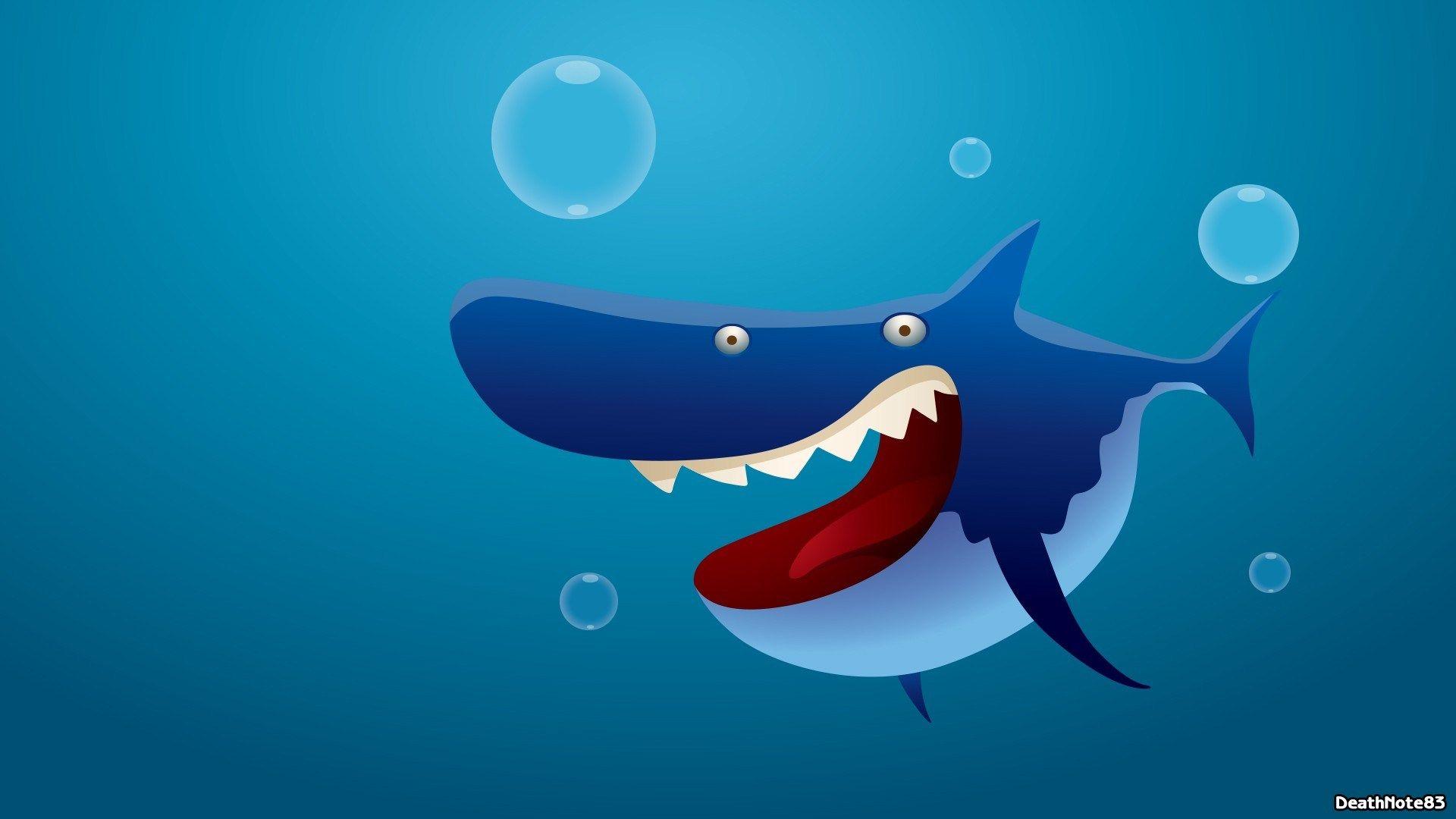 Акула картинка смешно, новому году