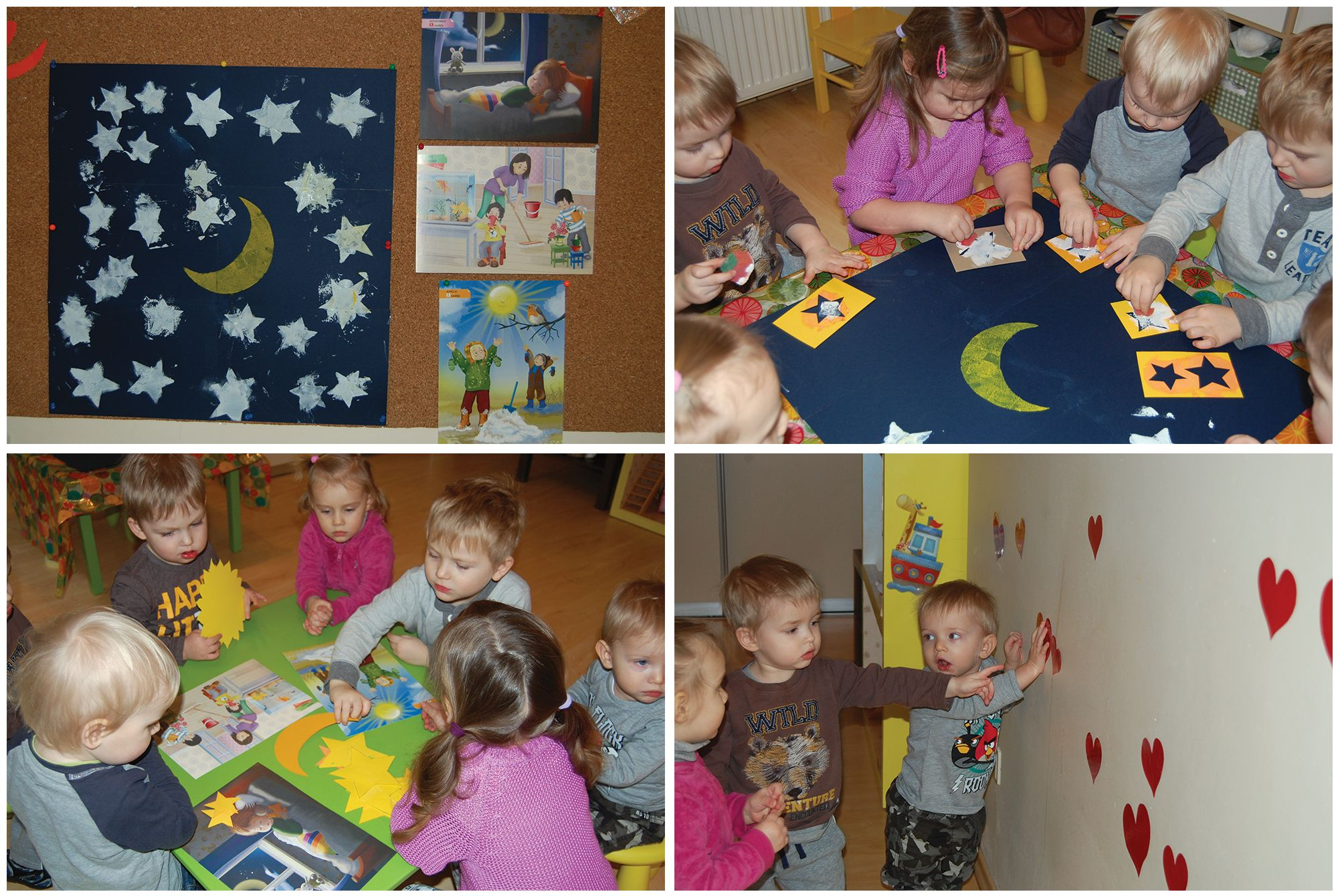 Preschool Crafts At Theme Day And Night Night St Rs