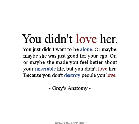 You don\'t destroy people you love | My unhealthy obsessions ...