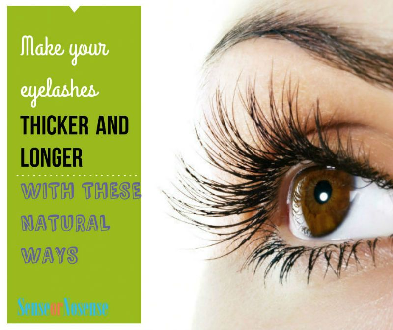 Natural Ways To Grow Your Eyelashes Thicker And Longer Makeup