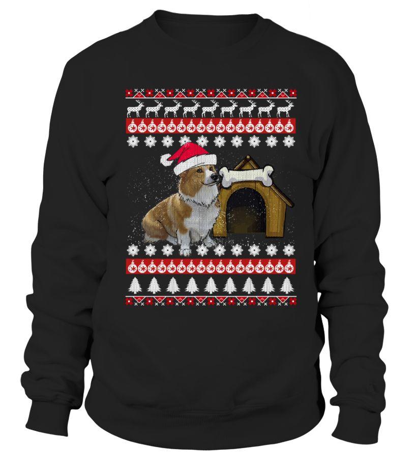 Pembroke Corgi Ugly Christmas Sweaters corgi shirtncorgi shirt ...