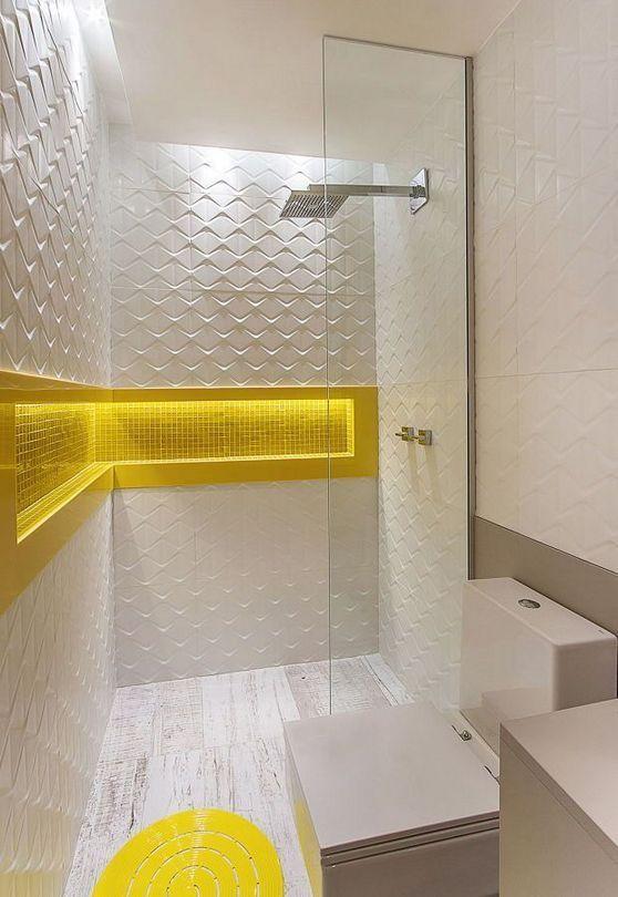 35+ The Appeal of Yellow Bathroom Decor   Yellow bathroom ...