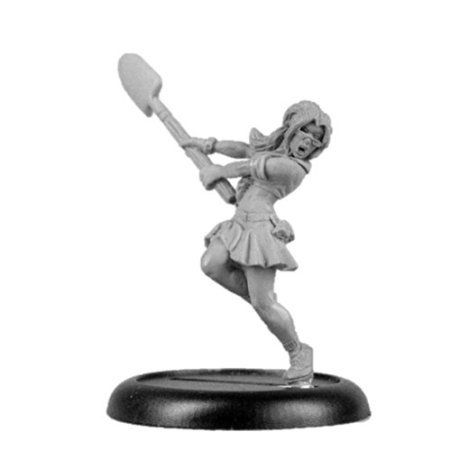 Bombshell 32mm scale Miniatures: Artie the Zombie Hunter @ niftywarehouse.com #NiftyWarehouse #Zombie #Horror #Zombies #Halloween