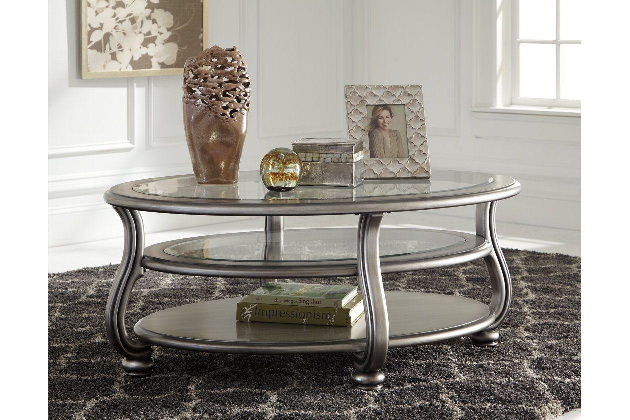 Coralayne Coffee Table Ashley Furniture Homestore In 2021 Coffee Table Glam Coffee Table Furniture [ 840 x 1260 Pixel ]