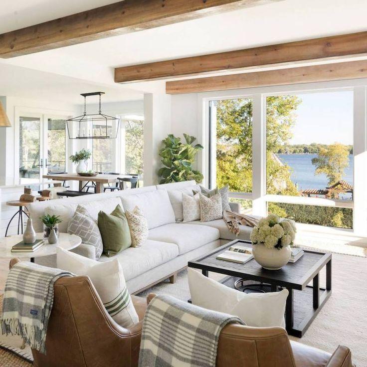 51+ Rustic Farmhouse Living Room Decor Ideas