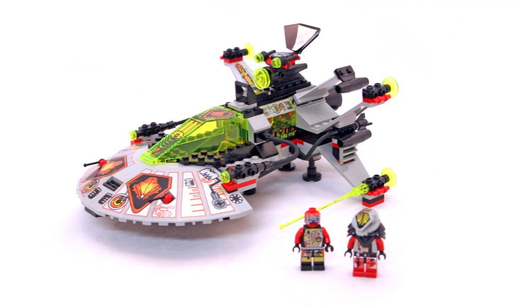 LEGO 6915-1 Warp Wing Fighter | UFO | 1997 #space | Legos ...