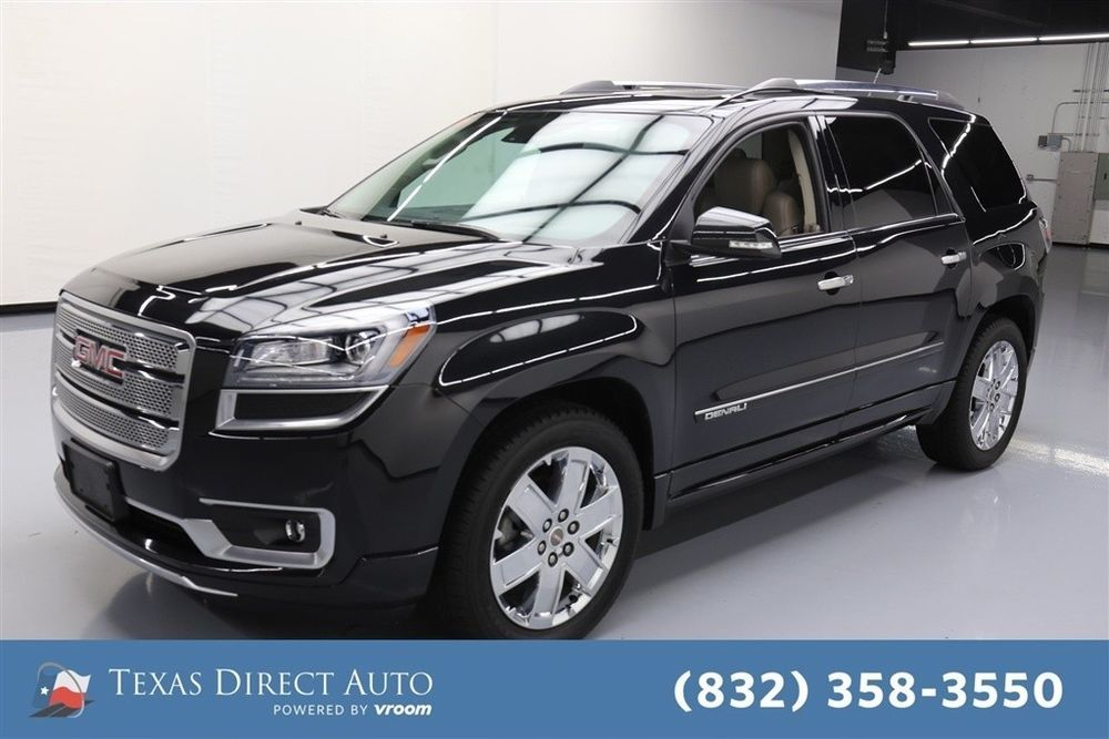 For Sale 2015 Gmc Acadia Denali Texas Direct Auto 2015 Denali
