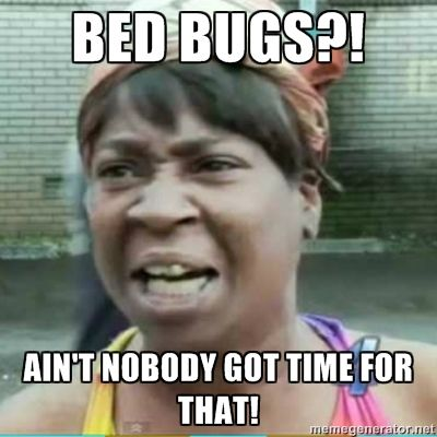 Bed bugs aint nobody got time for that bedbugs funny meme domyownpestcontrol do it yourself pest control solutioingenieria Images