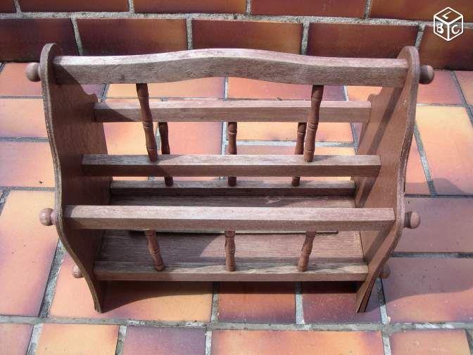 Porte revue bois base peinture déco sympas le boncoin Pinterest