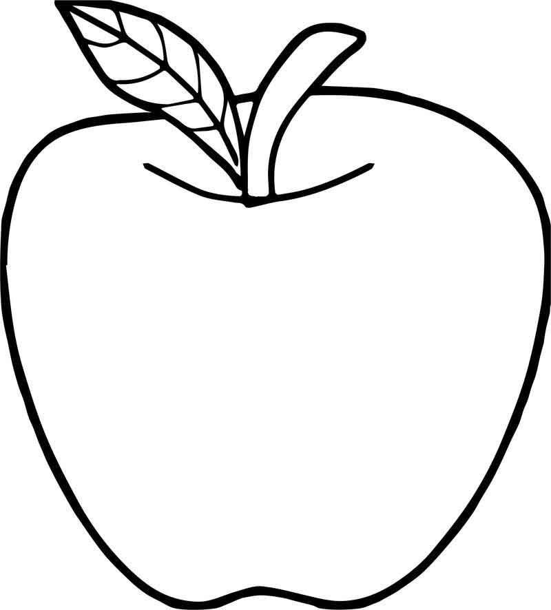 Good Apple Coloring Page Halaman Mewarnai Bunga Buku Mewarnai Halaman Mewarnai