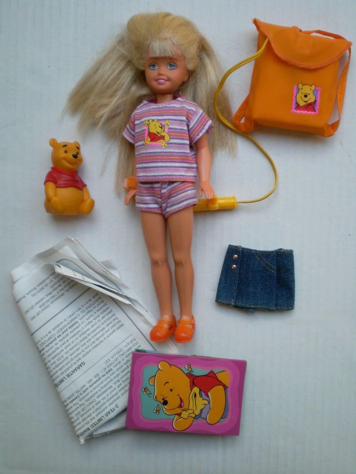 Barbie Sister Stacie And Winnie The Pooh Doll Set 1997 Mattel | eBay ...