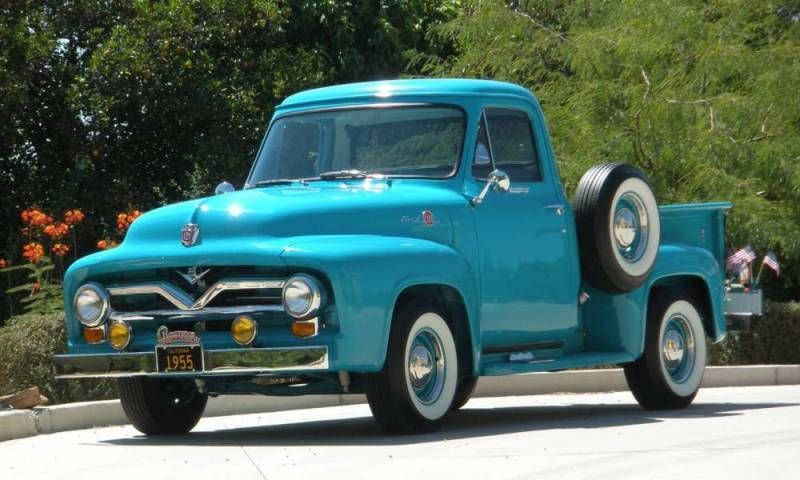 1955 Ford F 100 Pickup Truck Need This To Pull Butterbean