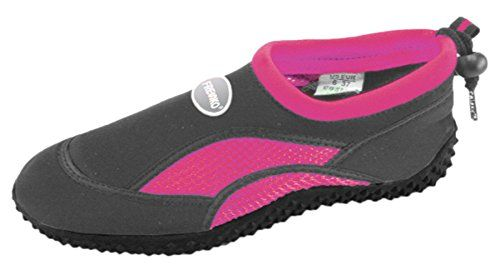 Fresko Womens Water Shoes L1011 Dark GreyFuchsia 8 M US -- Read more reviews of the product by visiting the link on the image.