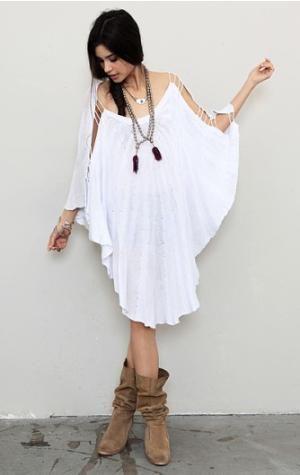 Classic white dress :)