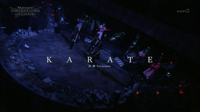 NHK TV SHOW - Music Japan Special Night | BABYMETAL革命 〜少女たちは世界と戦う〜