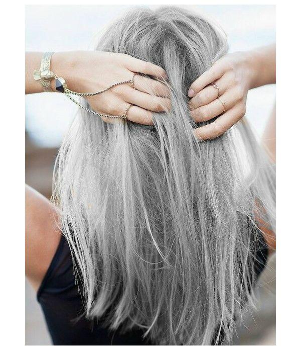 el pelo gris o la moda que no se pasa de moda