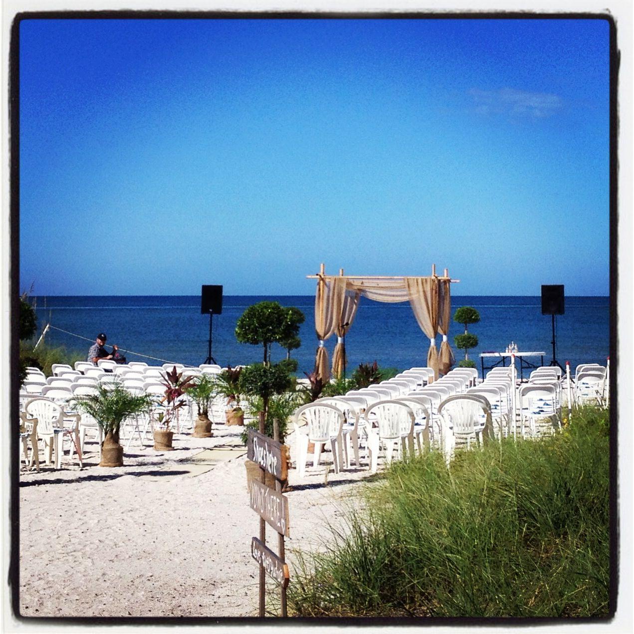 Treasure Island Beach: Treasure Island, Beach, Wedding