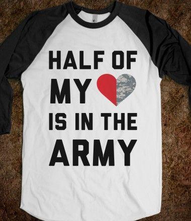507720b6a72629 Half My Heart Is In The Army | Things i want | Army boyfriend, Army ...