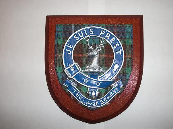 The Lovat Scouts wall shield