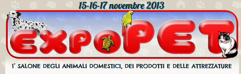 #EXPOPET #Catania, Novembre 15-16-17 2013, noi c'eravamo e tu? Ti aspettiamo al prossimo #evento