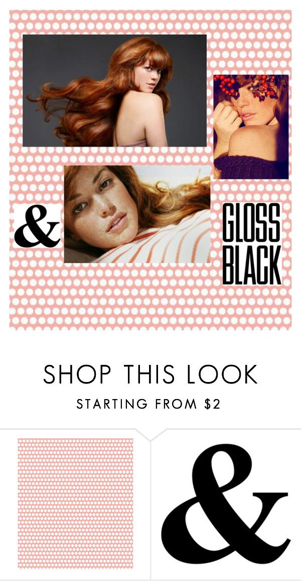 """""""Redhead"""" by ketlinsaad ❤ liked on Polyvore featuring beauty"""