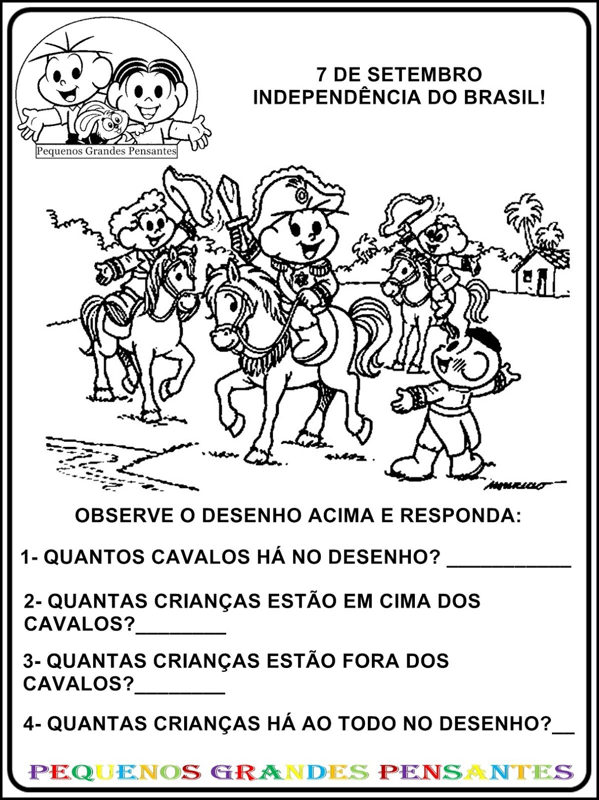 Resultado De Imagem Para Projeto Patria Com Atividades Educacao
