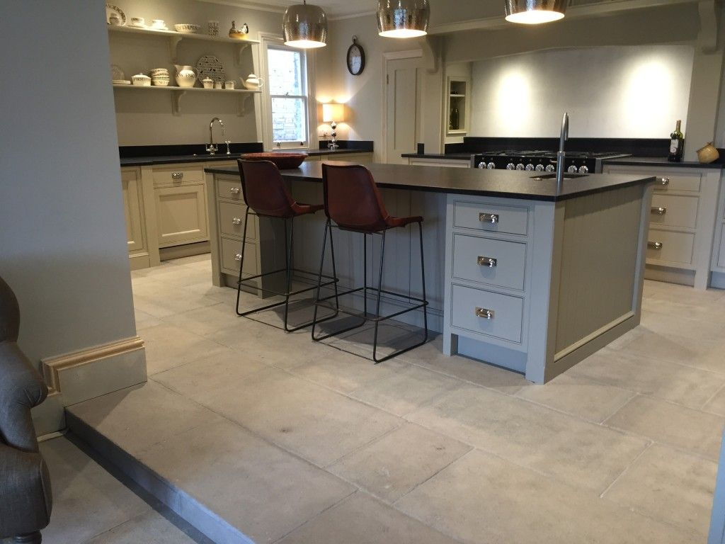 Antique Grey Barr Kitchen Stone Flooring  Kitchen  Pinterest Awesome Stone Floor Kitchen Inspiration Design